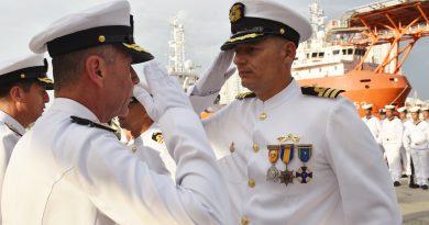 NUEVO MANDO DE FLOTA DE SUBMARINOS PARA ARMADA COLOMBIANA