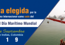Colombia será sede del Día Marítimo Mundial
