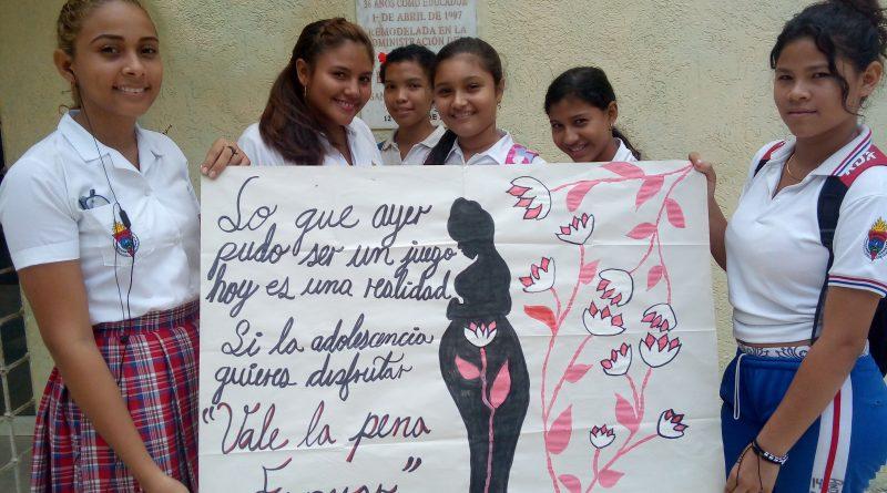 Semana Andina para la prevención del embarazo en adolescentes se conmemora en Bolívar.