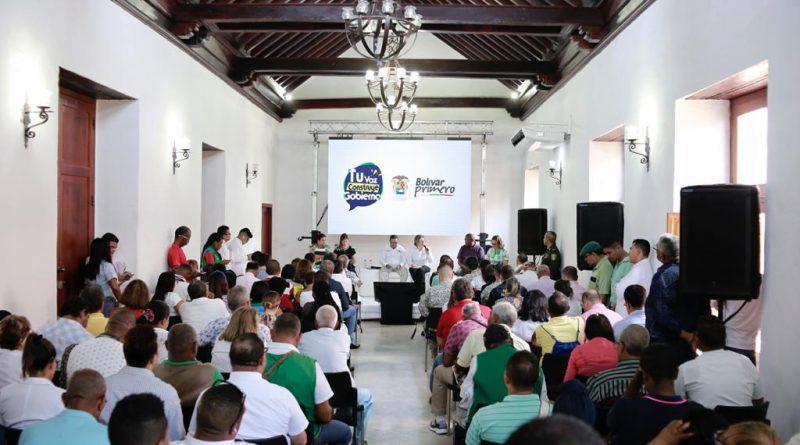 """«Tu Voz Construye Gobierno"""", iniciativa del gobernador Blel para escuchar las comunidades."""