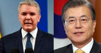 Colombia recibirá ayuda de Corea del Sur en la lucha contra el COVID-19