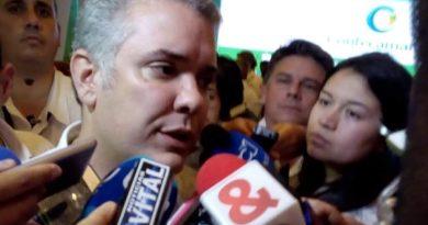 Presidente Duque llama a la disciplina ciudadana en Cartagena para reducir casos de COVID-19