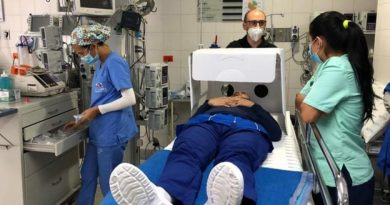 Gobernación entrega 450 cápsulas de bioprotección a personal médico de Bolívar