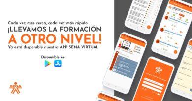 Nueva aplicación móvil 'SENA Virtual' está disponible para IOS y Android