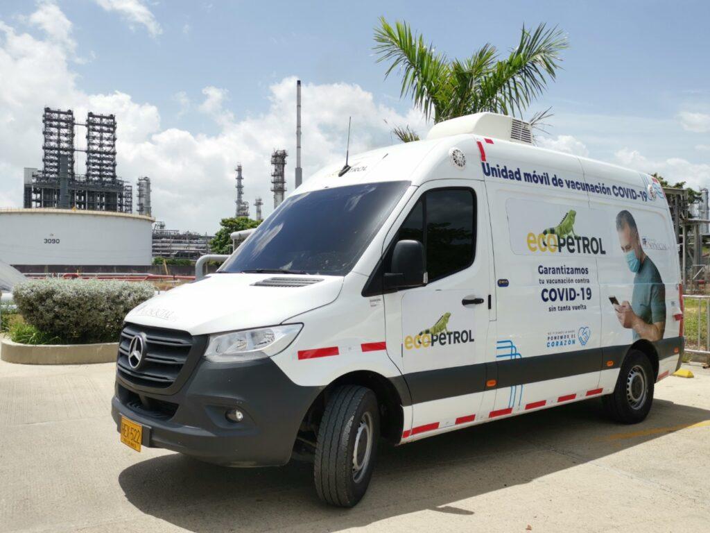 Ecopetrol inició la vacunación de sustrabajadores en la refinería de Cartagena - Noticias de Colombia