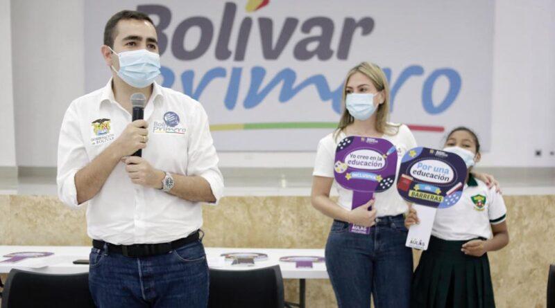 «Aula Inclusiva», Nueva estrategia de la secretaría de educación de Bolívar.
